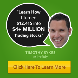 Learn How to Trade from Tim Sykes
