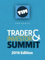 Trader & Investor Summit 2016